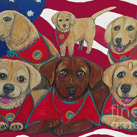 Vets Moving Forward Pups by Ania M Milo