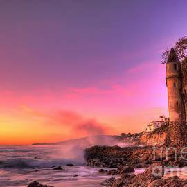 Eddie Yerkish - Victoria Beach at Sunset