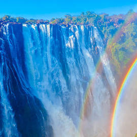 Victoria Falls Double Rainbow by Jeff at JSJ Photography