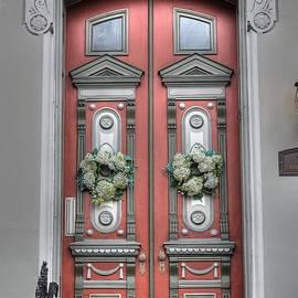 Victorian door by Jane Linders