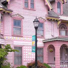 Victorian Pink House - Milford Delaware by Kim Bemis