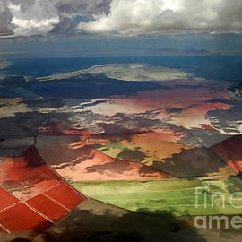 Barbara D Richards - View From A Plane