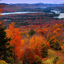 View From Mccauley Mountain II by David Patterson