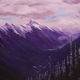 Michael Beckett - View from Sulphur Mountain
