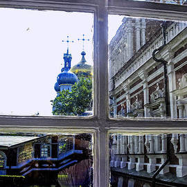 Madeline Ellis - View From the Novodevichy Convent - Russia