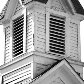 Vintage Belfry. Liberty Baptist Church 1900. Independence Texas by Connie Fox
