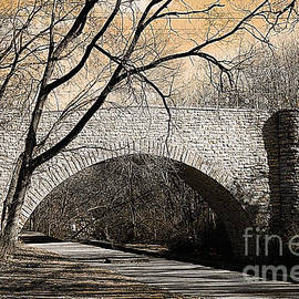 Luther Fine Art - Vintage Bridge in South Park