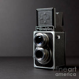 Vintage Camera by Art Block Collections