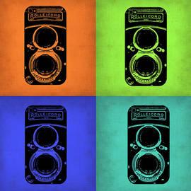 Vintage Camera Pop Art 1 by Naxart Studio