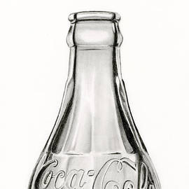 Sarah Batalka - Vintage Coke Bottle Drawing
