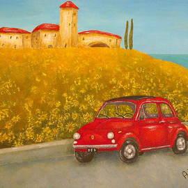 Pamela Allegretto - Vintage Fiat 500