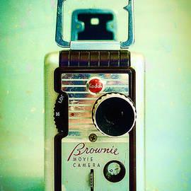 Vintage Kodak Brownie Movie Camera by Jon Woodhams