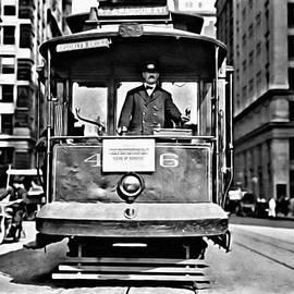 Vintage New York Streetcar by Florian Rodarte