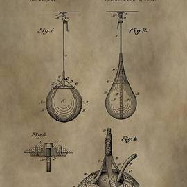 Vintage Punching Bag Patent by Dan Sproul