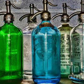 Vintage Soda Bottles by Paul Ward