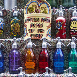 Vintage Soda Siphons, Argentina by Venetia Featherstone-Witty