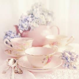 Vintage Teacups by Theresa Tahara