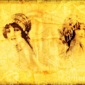 Vintage Victorian Rivals I by Femina Photo Art By Maggie