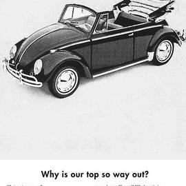 Georgia Fowler - Vintage VW Convertible Advert