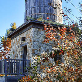 Vintage Water Tower by Linda Phelps