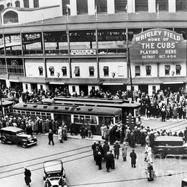 Vintage Wrigley Field by Horsch Gallery