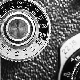 Vintage Yashica 635 Camera - ASA Dial by Jon Woodhams