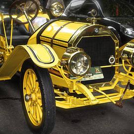 Venetia Featherstone-Witty - Vintage Yellow Roadster