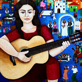 Madalena Lobao-Tello - Violeta Parra and the song Black wedding