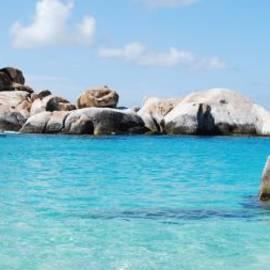 Virgin Islands The Baths by Robyn Saunders