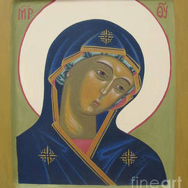 Seija Talolahti - Virgin Mary icon
