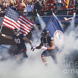 Jason O Watson - Virginia Cavaliers Football Team Entrance