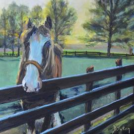 Donna Tuten - Virginia Horse Farm Morning