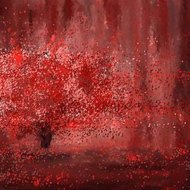 Visually empowered- Marsala Art by Lourry Legarde