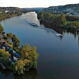 Vltava River by Emma Motte