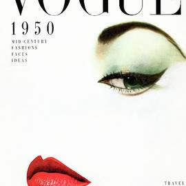 Vogue Cover Of Jean Patchett by Erwin Blumenfeld