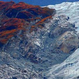 Tap On Photo - Volcano Glacier - Chile South America