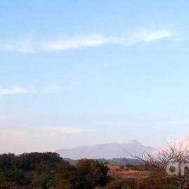 Clotilde Espinosa - Volcanoes at Sundown