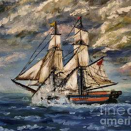 Isabella F Abbie Shores FRSA - Voyage of the Cloud Chaser
