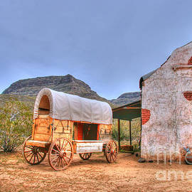 Southwest Wagon Church  by Tap On Photo