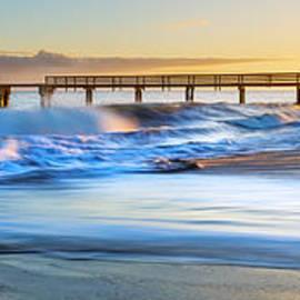 Hawaii  Fine Art Photography - Waimea Pier Sunset