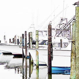 Waiting for Food - Outer Banks by Dan Carmichael
