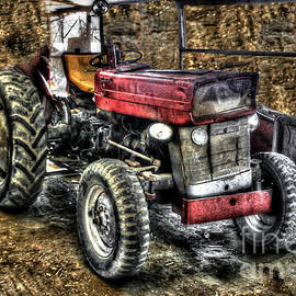 Classic Deere Tractor by Doc Braham