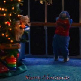 Waiting For Santa - Christmas Card by Chris Flees