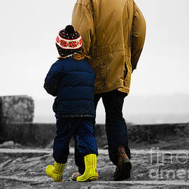 Walk alongside me Daddy by Terri Waters