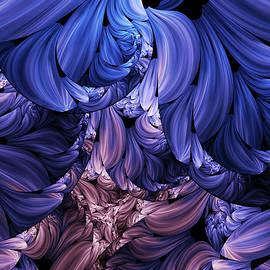 Georgiana Romanovna - Walk Through The Petals Abstract