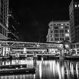 Andrew Slater - Walking Bridge Glow BW