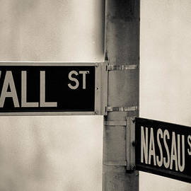Wall Street And Nassau by Matthew Pace