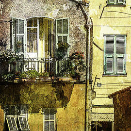 Warmth of Old Villefranche by Julie Palencia