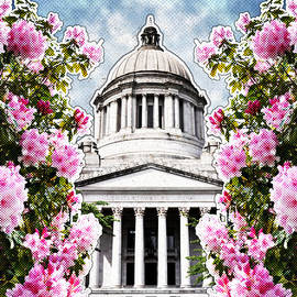 Washington State Capitol by April Moen