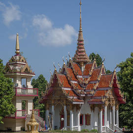 Wat Ket Ho Wihan And Bell Tower Dthp0616 by Gerry Gantt